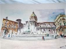 """""""PALERMO"""" - Piazza Pretoria Mario Carraro"""