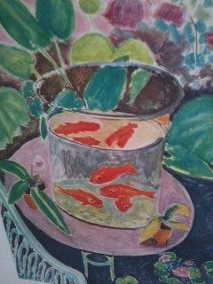 """""""Fish Bowl Print"""" Henri Matisse"""