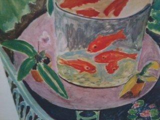 """""""Fish Bowl Print"""" Henri Matisse - 2"""