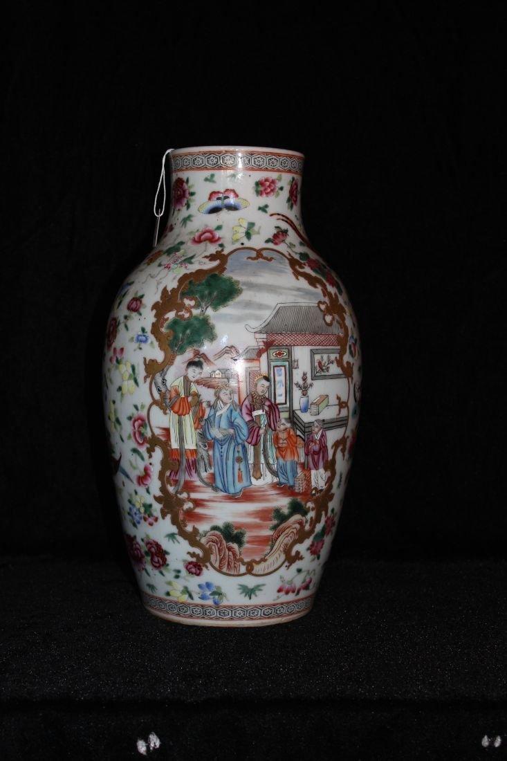 Guang Cai Famille Jar (Qing)