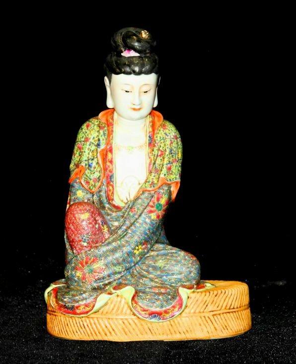 Pastel Buddha by Ceng Long Shen (ROC)