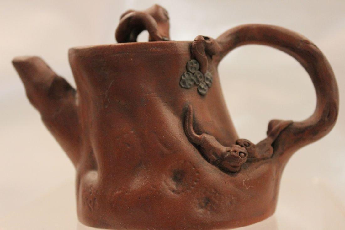I-Hsing Bamboo teapot