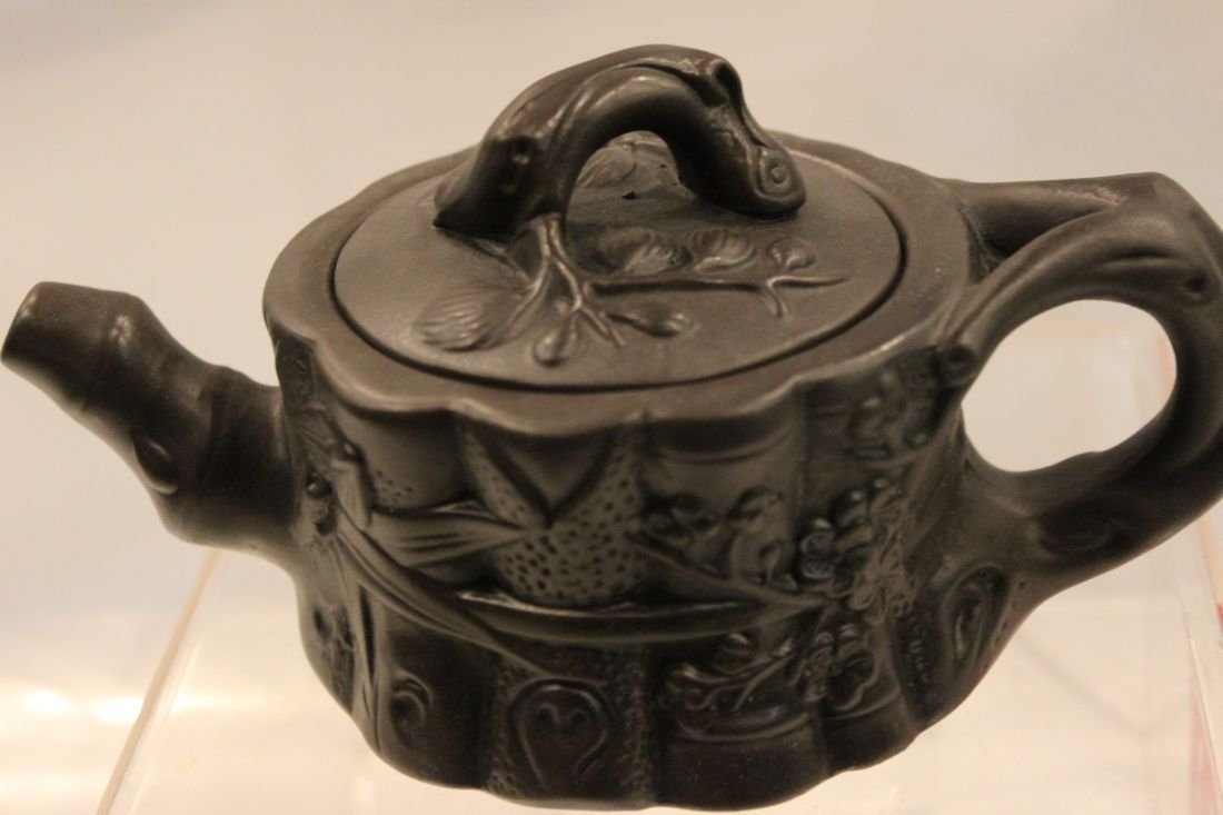 I-Hsing teapot with Bamboos