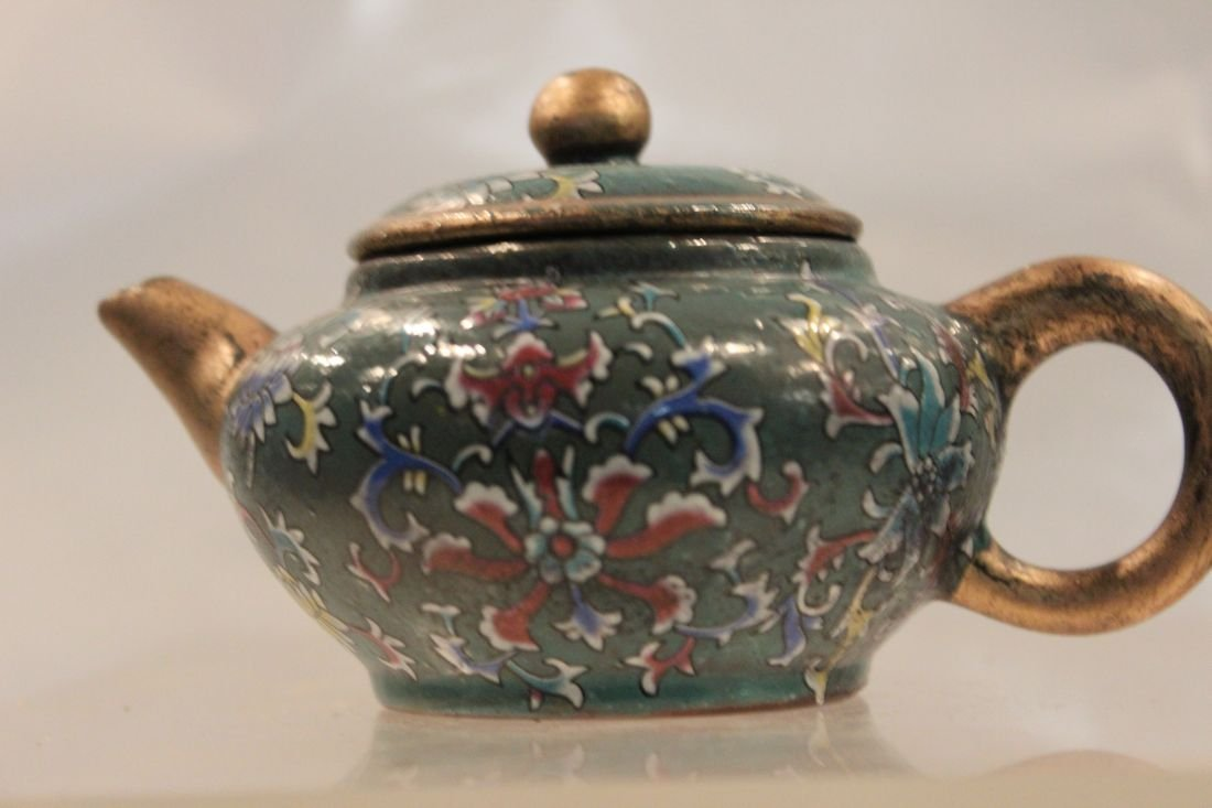 Gilded Pastel I-Hsing teapot