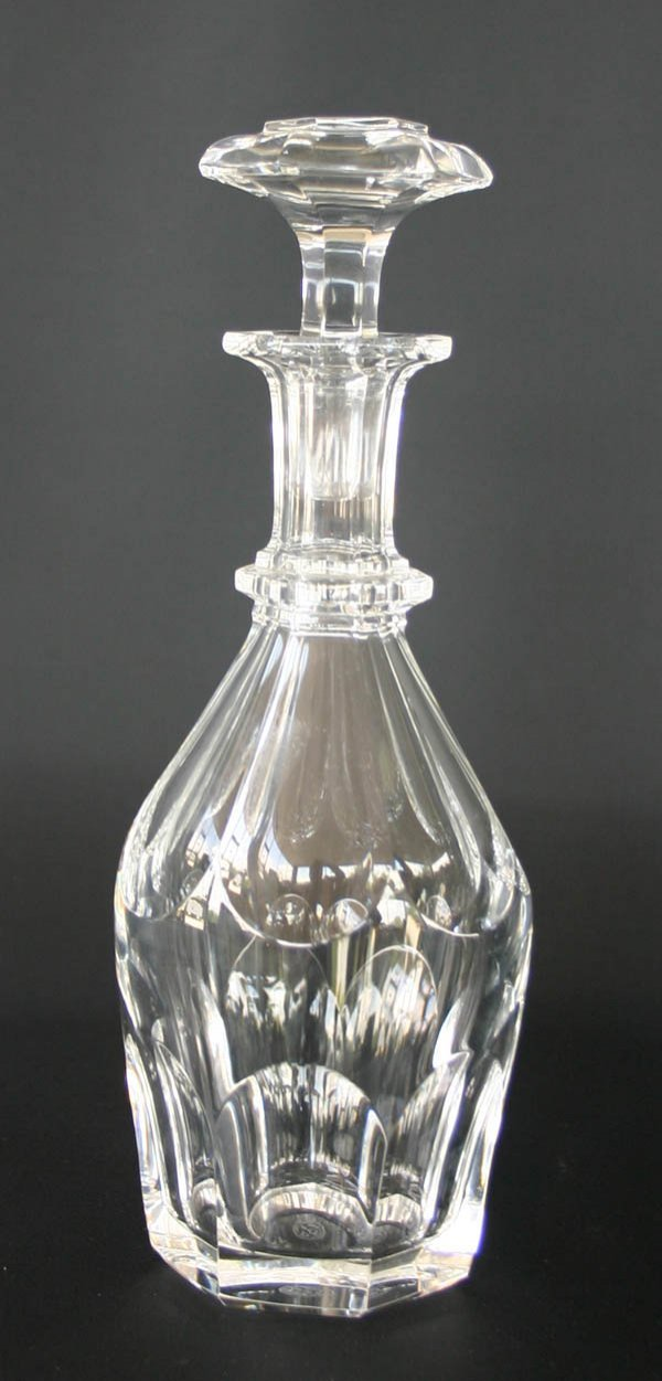 "1: Signed Baccarat Glass Decanter 11.25""h"