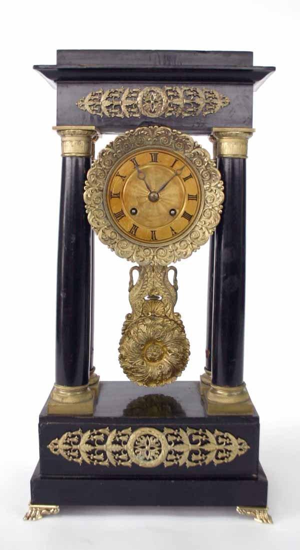 3: French Empire Pillar Clock