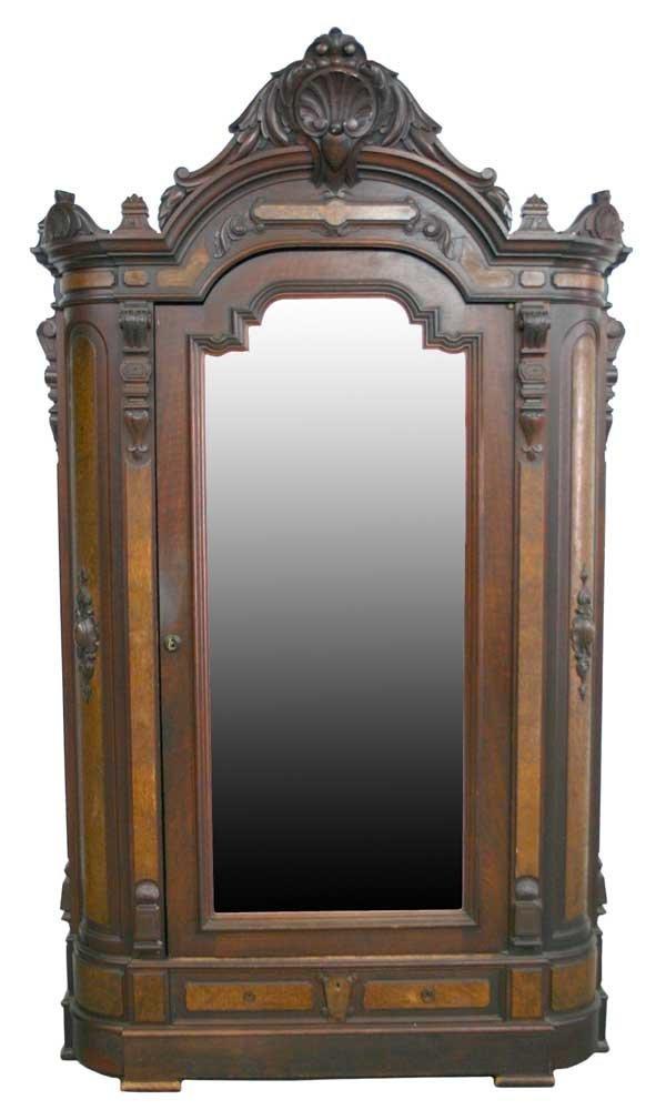 5: American Victorian Renaissance Walnut Armoire