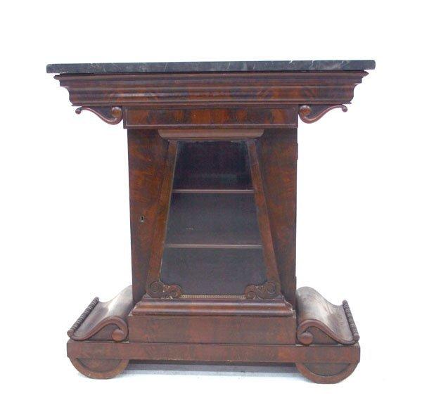 23: American Mahogany Mint Julep Parlor Cabinet