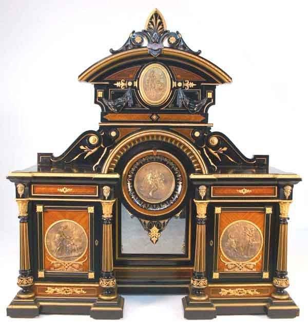 169: Exceptional American Renaissance Parlor Cabinet