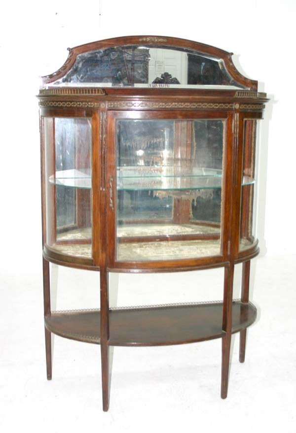 12: French Louis XVI Style Curio Cabinet