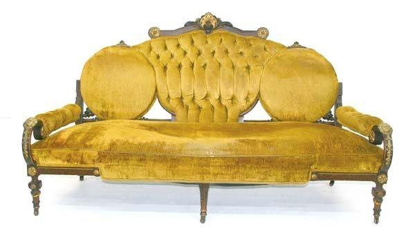 20: Rare American Rosewood Egyptian Revival Sofa