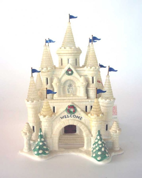 1002: Dept 56 Snow Carnival Ice Palace 54850 Snow Villa
