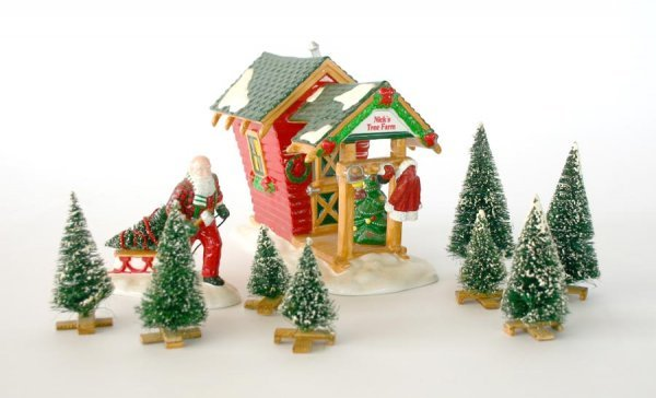 1016: Dept 56 Nick's Tree Farm 54871 Snow Village