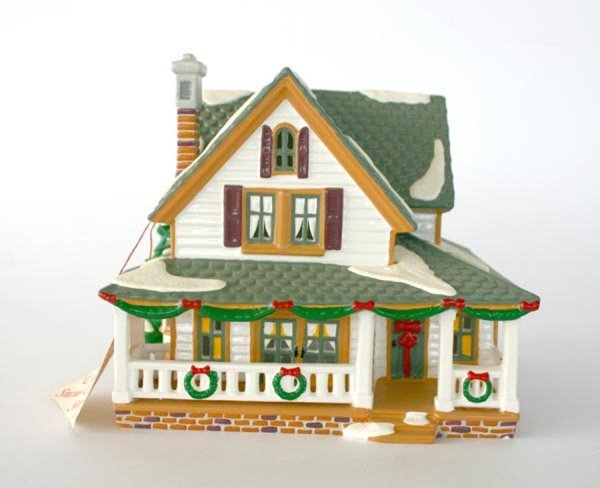 1017: Dept 56 Boulder Springs House 54873 Snow Village
