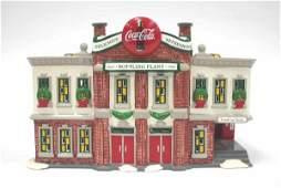 1033: Dept 56 Coca Cola Bottling Plant 54690 Snow Villa