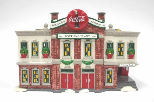 1033: Dept 56 Coca Cola Bottling Plant 54690 Snow Villa