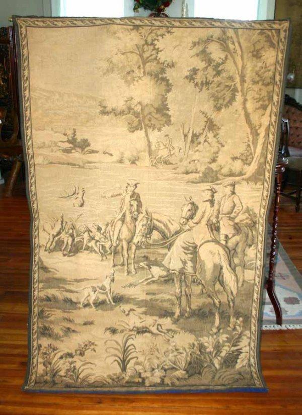 11: Wall Tapestry of Hunt Scene
