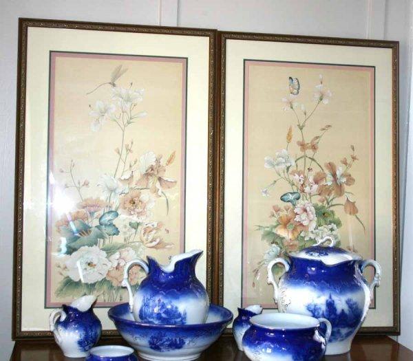 21: Nice Pair of Framed Floral Prints