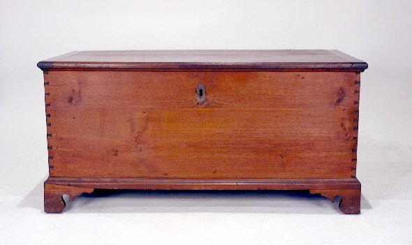 004: 18th C. American Walnut Blanket Chest
