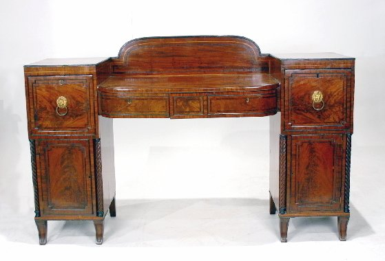 011: English Regency Mahogany Sideboard
