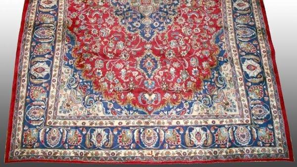502: Mashad Persian Rug  9'5 x 12'8