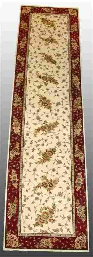 Silk/Wool Rug 2'6 x 10