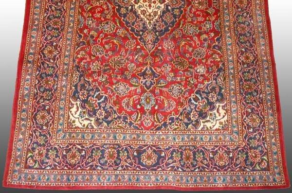 520: Kashan Persian Rug 6'4 x 9'3