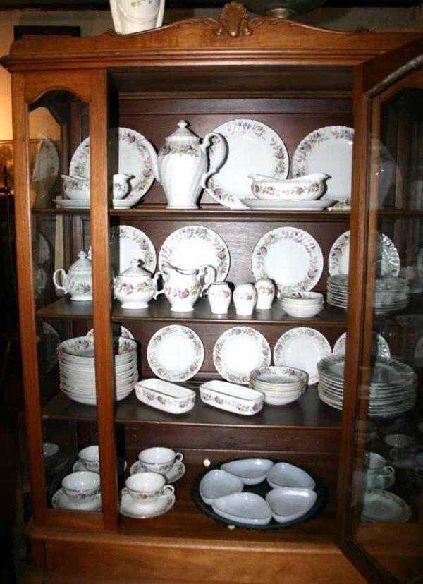 1003: Set of Porcelain China