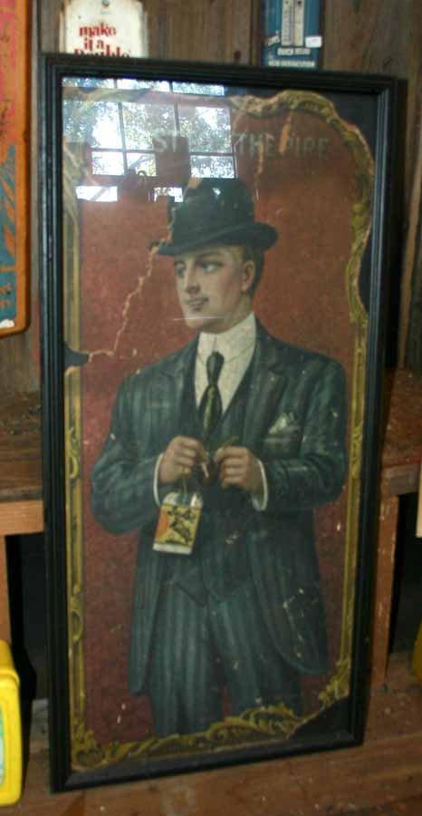 1004: Vintage Tobacco Advertising Sign