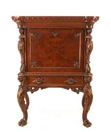 142: Rare Henkel Figural Desk From High Museum