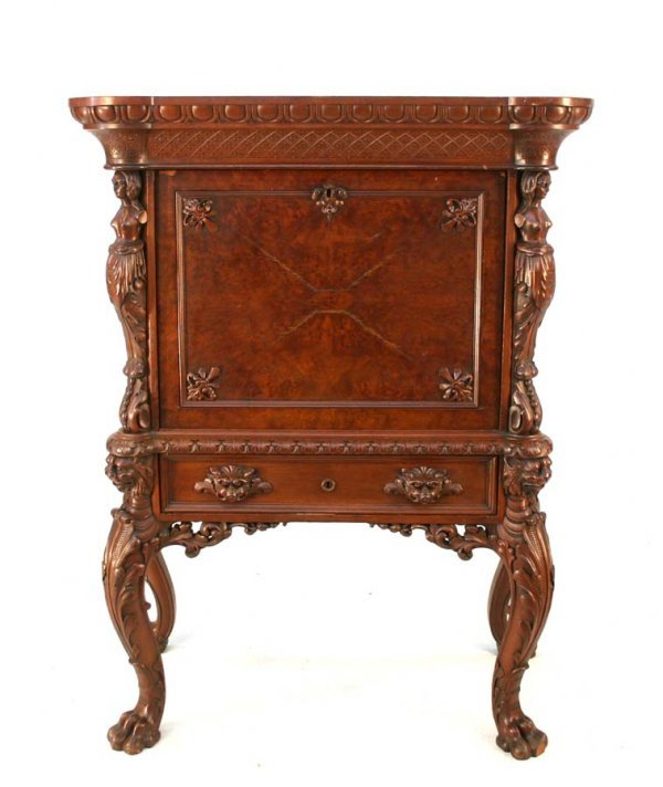 142: Rare Henkel Figural Desk From High Museum