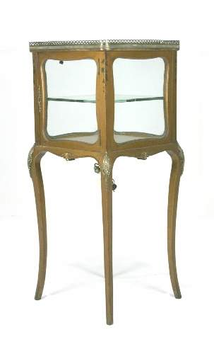 Verni Martin Style Display Case. Circa 1870-1880