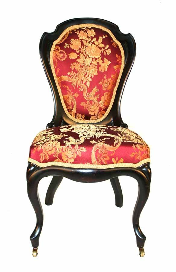 14: JH Belter Rosewood Laminated Shield Back Side Chair