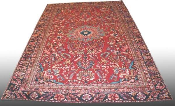 "18A: 9'6"" X 13"" Persian Lillihan Persian Rug"