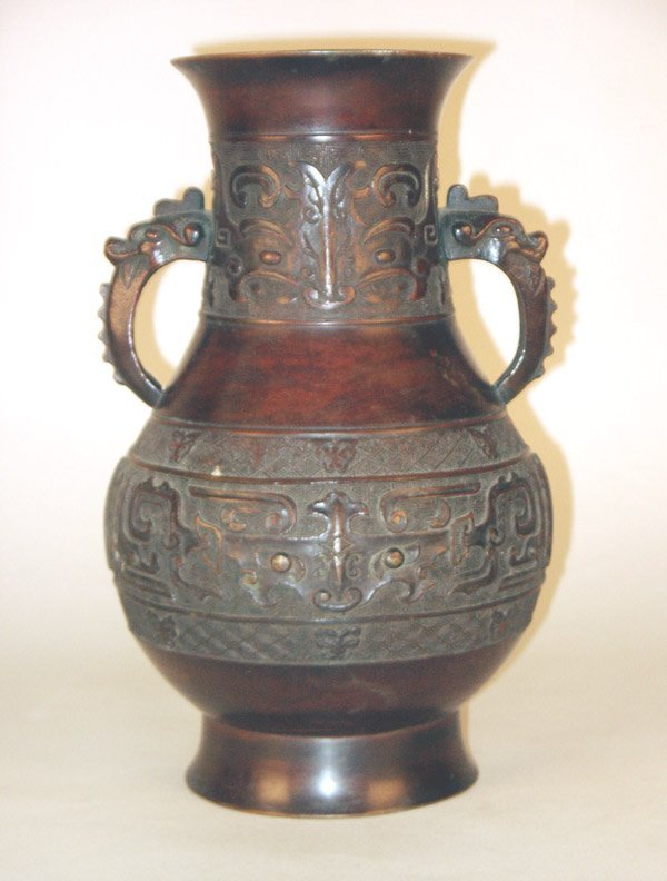515: Early Chinese Bronze Vase