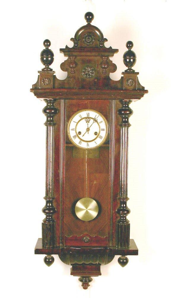 18: German Regulator Clock Signed Prevot Freres Nancy.
