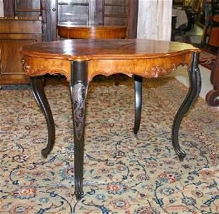 Louis Phillipe Salon Table