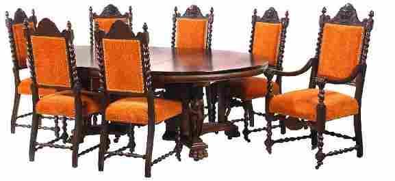 100: American Oak Dining Room Suite