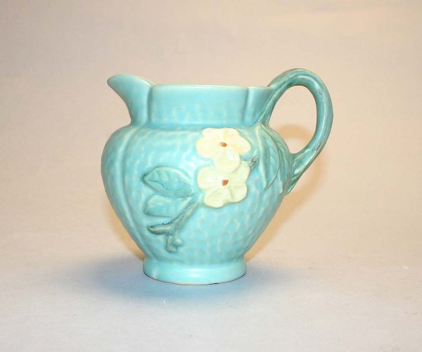 1020: Weller Dogwood Pitcher #5. Good Condition.