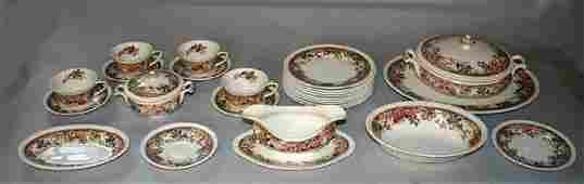 1330: Set of Devonshire Johnson Bros. England China