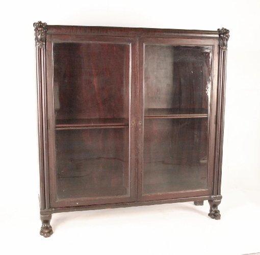 7: Late Victorian Mahogany Bookcase
