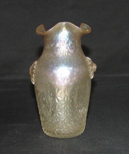 16: English Art Glass Vase