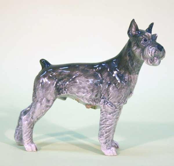 """19: Porcelain Dog 6""""h"""