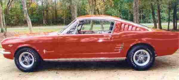 205: 1966 Mustang Fastbask 2+2