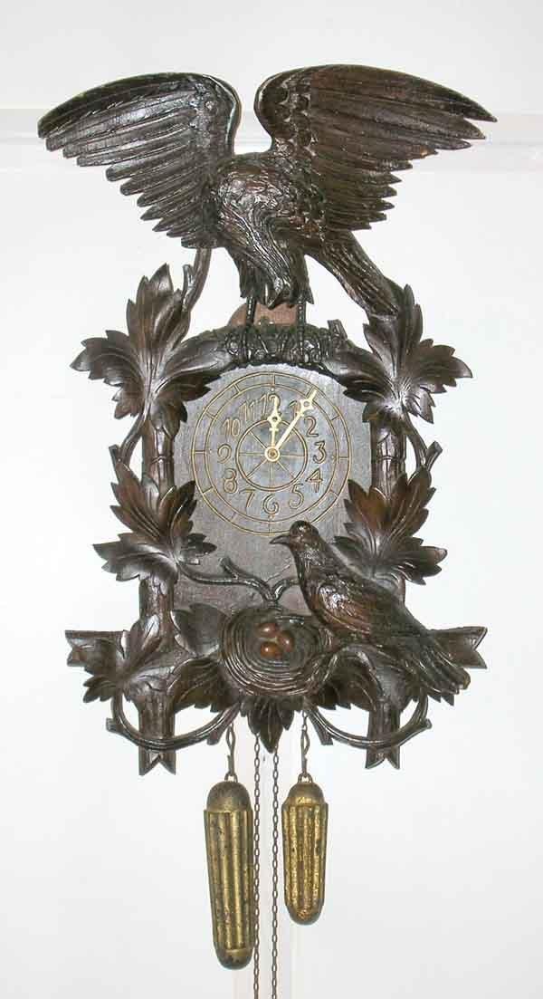 "11: Black Forest Cuckoo Clock. 21""h x 13""w"