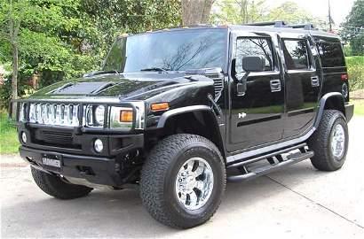 169: 2005 Hummer H2 SUV 23,000 Miles