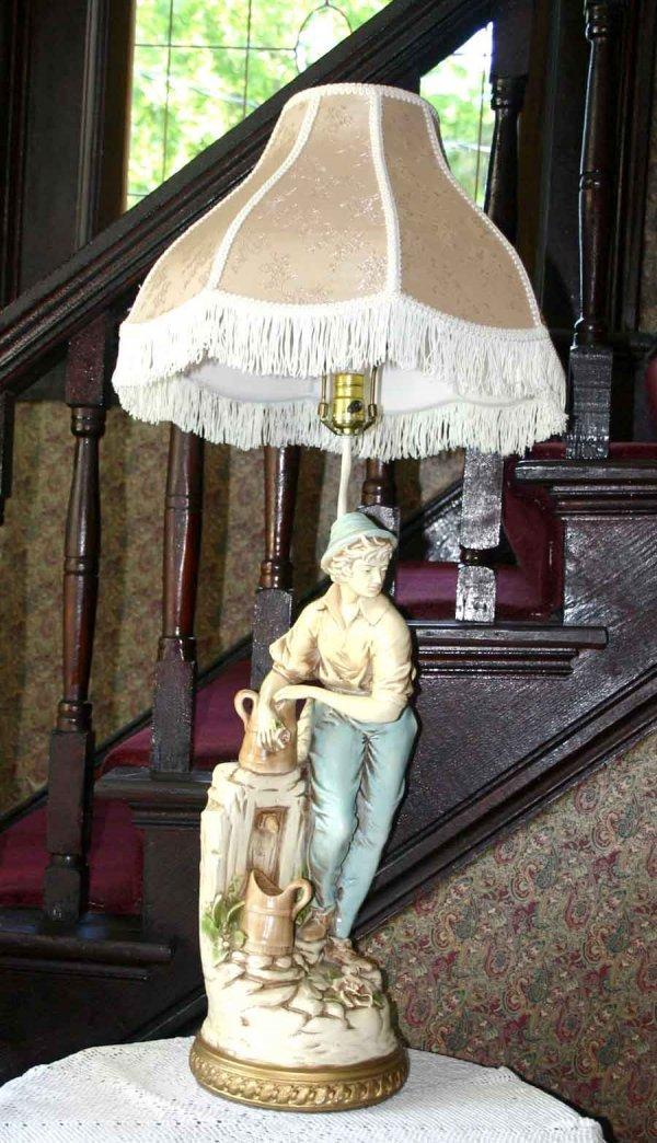2: Ceramic Figural Lamp