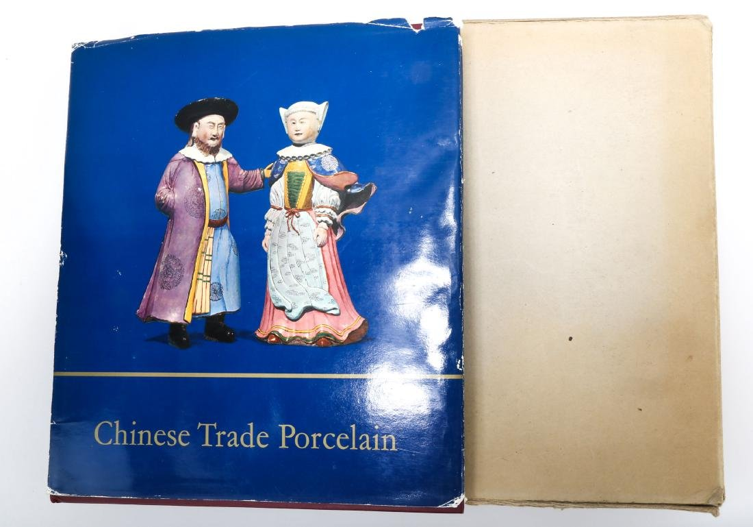 CHINESE TRADE PORCELAIN.by BEURDELEY, Michel,