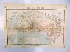 A MAP OF The Summer Palace 1951.B023.