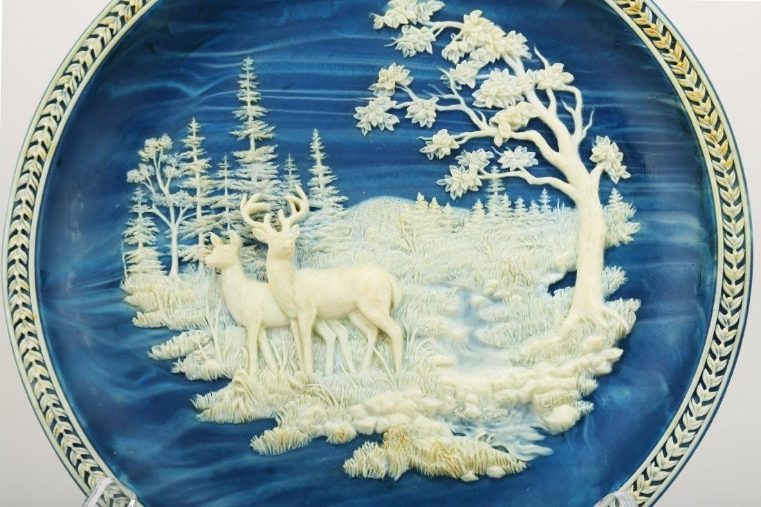 Collector's Plate by Don Cliff.C284. - 2